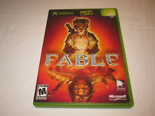 Fable (Microsoft Xbox) Original Release Game Complete Vr Nice!