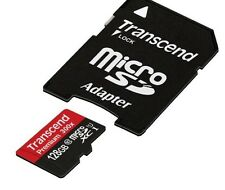 Transcend 128 GB Memory Card Micro SD Card MicroSD Class 10 HTC Galaxy Note 7 S7