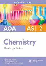 AQA AS Chemistry: Chemistry in Action: Unit 2 by Margaret Cross (Paperback,...