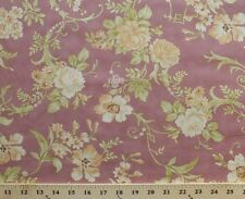 Fig & Plum Fig Tree Quilts Floral Cotton Fabric Print by the Yard D685.16