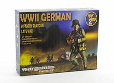 28MM GERMAN INFANTRY PLATOON LATE WAR - WARGAMES FACTORY - WW2 BOLT ACTION