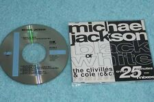 Michael Jackson Maxi-CD Black & White THE CLIVILLES & COLE REMIXES - 657598 9