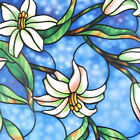 Decorative or Privacy Static Window Film ::: Blue Orchid :::