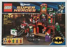 LEGO® DC Super Heroes Batman™ 6857 The Dynamic Duo Funhouse Escape Neu & OVP new
