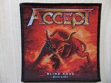 Aufnäher - Patch - Accept - Blind Rage - U.D.O. - Sinner - Majesty - Saxon - Dio