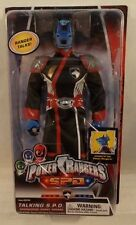 """Power Rangers SPD 12"""" Talking Commander Doggy Cruger By Bandai (MOC)"""