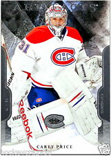 2011-12 UD Artifacts - CAREY PRICE #31