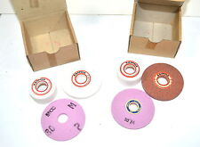 NOS Emco Maximat Austria Tool Post GRINDING WHEELS SET OF 3 #1191 #WR14bD1&2