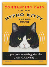 Retro Cats Refrigerator Magnets: HYPNO KITTY | Vintage Advertising Art