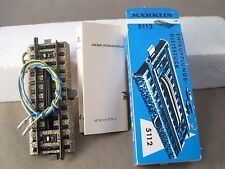 Märklin HO 5112 Entkuppler elektrisch ladenneu ! OVP dunkelblau 70er Jahre