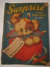 1941 SURPRISE A NEW PAINT BOOK FOR YOU - 4821A - POOR CONDITION - TUB AAA