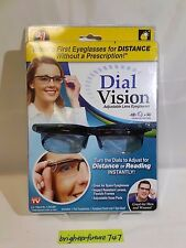 As Seen On TV Dial Vision Glasses For Myopia and long sighted Eye Adjusting