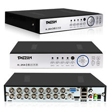 Tmezon AHD 16CH 1080P 3in1 Hybrid DVR Recorder Standalone CCTV Security System