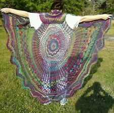 Handmade Stevie Nicks Hippie Bohemian Vest in sunrise color