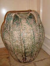 Antique large French terracotta jar jug pitcher South France, circa 1850, h-19""
