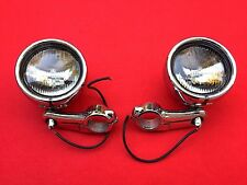 GENUINE HARLEY SPORTSTER 39mm AUXILIARY LIGHTS PASSING LAMPS FOG SPOT DYNA FXR