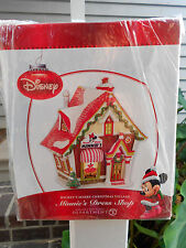 DEPT 56 DISNEY VILLAGE MINNIE'S DRESS SHOP NIB *Still Sealed*