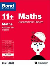 Bond 11+: Maths: Assessment Papers: 6-7 Years New Paperback Book Len Frobisher,