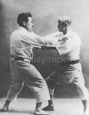 Jigoro Kano & Kyuzo Mifune Japan Judo Martial Arts 6x5 Inch Photo