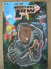 MARSHAL LAW - USA EPIC COMICS - No 5 1988