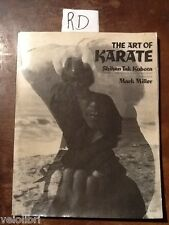 TAK KUBOTA Shihan MILLER Mark, The art of karate.1977, Peebles Press