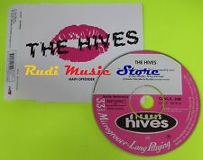 CD Singolo THE HIVES Main offender BURNING HEART RECORDS 2001 mc dvd (S6)