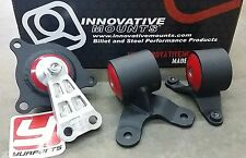 Innovative 90650 Motor Mounts Kit Acura RSX 02-06 Civic Si EP3 02-05 Steel