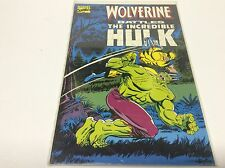 WOLVERINE BATTLES THE INCREDIBLE HULK TRADE PAPERBACK ( MARVEL/HULK 181/0816268)