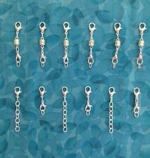 SP683   6 Magnetic Jewelry Clasps + 6 Necklace Extenders  Willow Springs