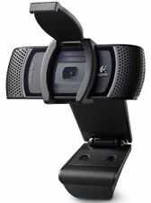 Logitech B910 HD 1080P Carl Zeiss Tessar USB Webcam With Clip-On