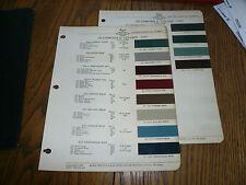 1947 Oldsmobile Acme Proxlin Paints Color Chip Paint Sample - Vintage