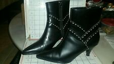 Vintage BOB MACKIE STUDIOS Ladies Women 80s 90s Leather Boots size 6 1/2 Exc. Cn