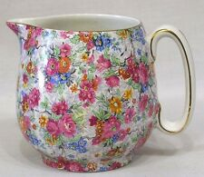 Vintage Lord Nelson Ware Chintz Milk Pitcher Marina Pattern Made in England