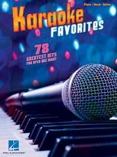 Karaoke Favorites Sheet Music Piano Vocal Guitar SongBook NEW 000312527