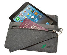 Ultimate Addons Grey Felt Sleeve Travel Case for Nook Simple Touch Glowlight