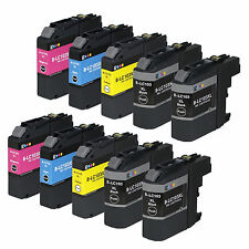 10 Pack LC103 Brother Compatible Ink Cartridge For MFC-J4510DW MFC-J4710DW