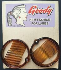 Two 1950s Ring Grips 5.5cm wide GOODY NEW FASHION FOR LADIES