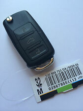 Remote Key for Seat Leon & Toledo - Cut to Code - 1J0 959 753 DA