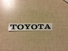 Vintage look Toyota decal for Tamiya hi lux RC4wd trail finder 2 tf2