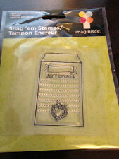 """Imaginisce """"Seed Packet"""" Clear Stamp!!! Berrylicious Journaling"""