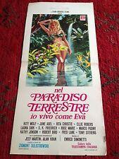 Nel Paradiso Terrestre Io Vivo Come Eva locandina poster How I Live as Eve