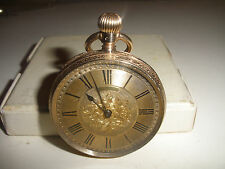 Antique 1883 Royal Waltham 10k gold pocket watch  8s only 100 made running fine