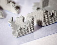 RUINS Set 15 mm resin 7 pieces - wargaming scenery Flames of War Tanks unpainted