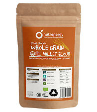 Gluten Free Stone Ground Whole Grain Millet Flour 1 kg