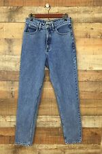Vintage Guess High Waist Tapered Leg Mom Jeans Size 32 (*30) Light Medium Wash