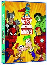 Phineas Y Ferb Mission Marvel DVD