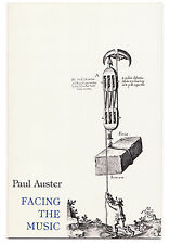 Facing the Music: Poems - Signed by Paul Auster - First Edition