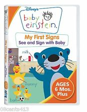 Baby Einstein - My First Signs (Disney Fullscreen DVD) Sign Language With Baby!
