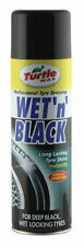 TURTLE WAX WET 'N' BLACK WET LOOK TYRE SHINE & PROTECTOR SPRAY