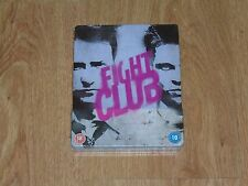 "Fight Club (blu-ray) Metalpack ""like Steelbook"". NEW & SEALED (UK release)."